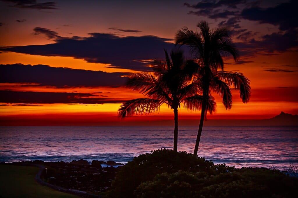 hawaii-sunset
