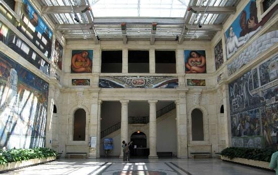 Detroit-Art Museumsl-with-rivera-fresco