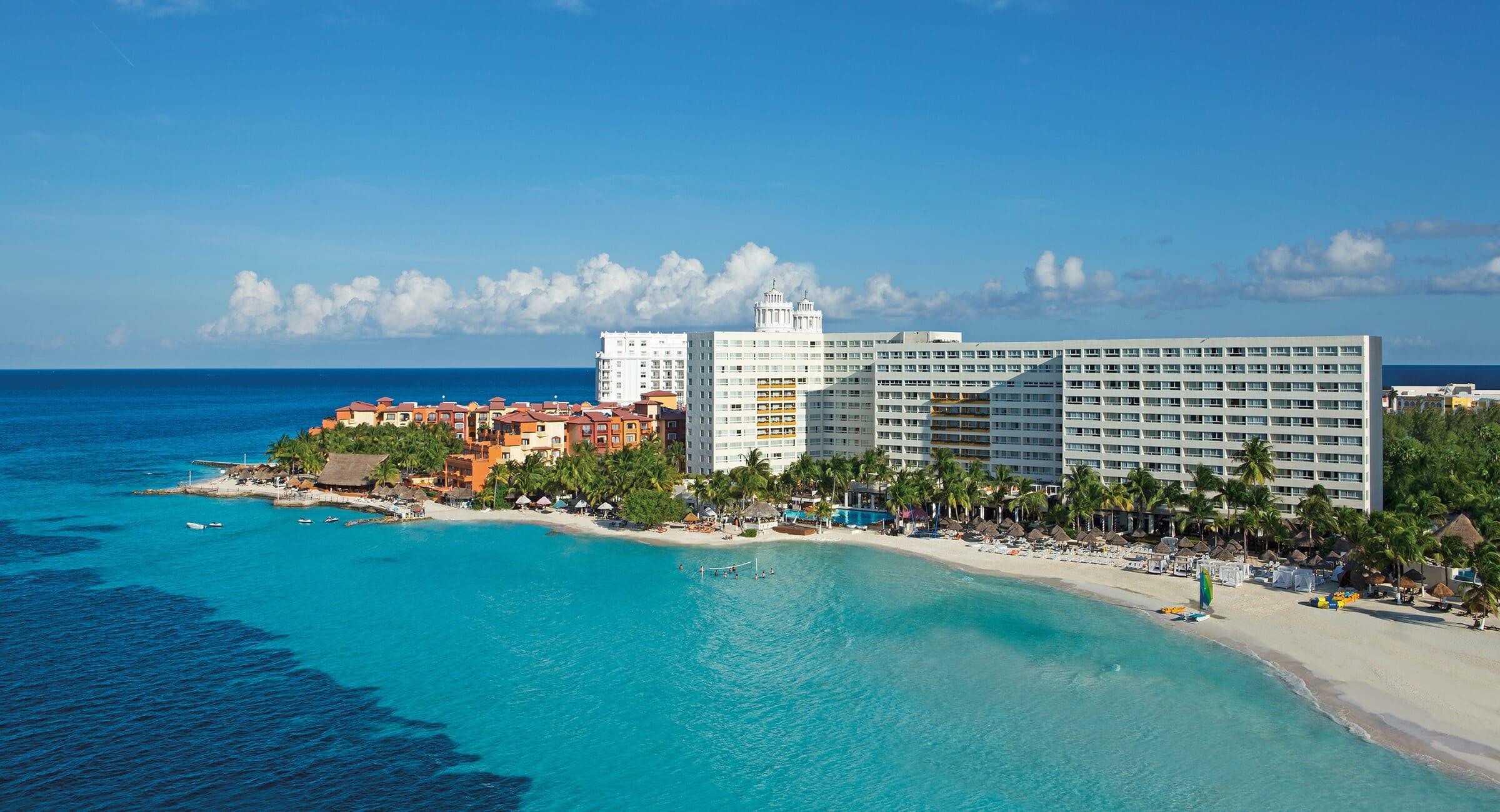 Dreams Sands Cancun Aerial View